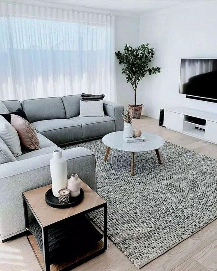 Eleganten Minimalistischen Schritte Wesentliche Wohnmobeln Wesentliche Schrit Minimalist Home Furniture Minimalist Living Room Living Room Decor Apartment Minimalist living room furniture for