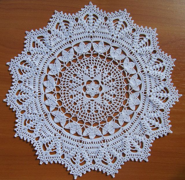 21.Victoriana from Crochet Fantasy Magazine 1992 #10 October D=29 cm Hook 0.9 Pelican VITA cotton #3951 0,8 skeins st 02/08/2014 fin 13/08/2014