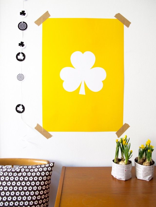 Yellow clover, a poster by Johanna.B. Easter feeling! #nordicdesigncollective #yellow #trend #trendcolor #trendcolour #easteryellow #easter #yellowclover #poster #print #johannab #swedishdesign #nordicdesign #scandinaviandesign #lilies #easterlilies #pillow #wood #homedecor #interiordesign