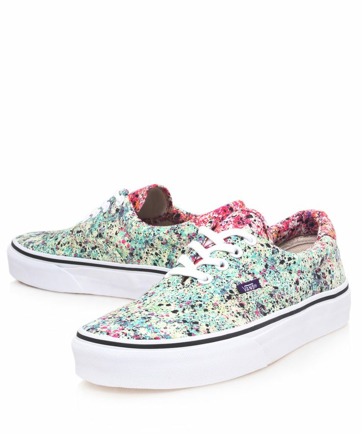 Vans Pink and Blue Era Speckle Print Trainers | Trainers by Vans | Liberty.co.uk