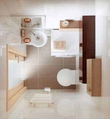 Самые удачные планировки для маленьких ванных комнат. Фото