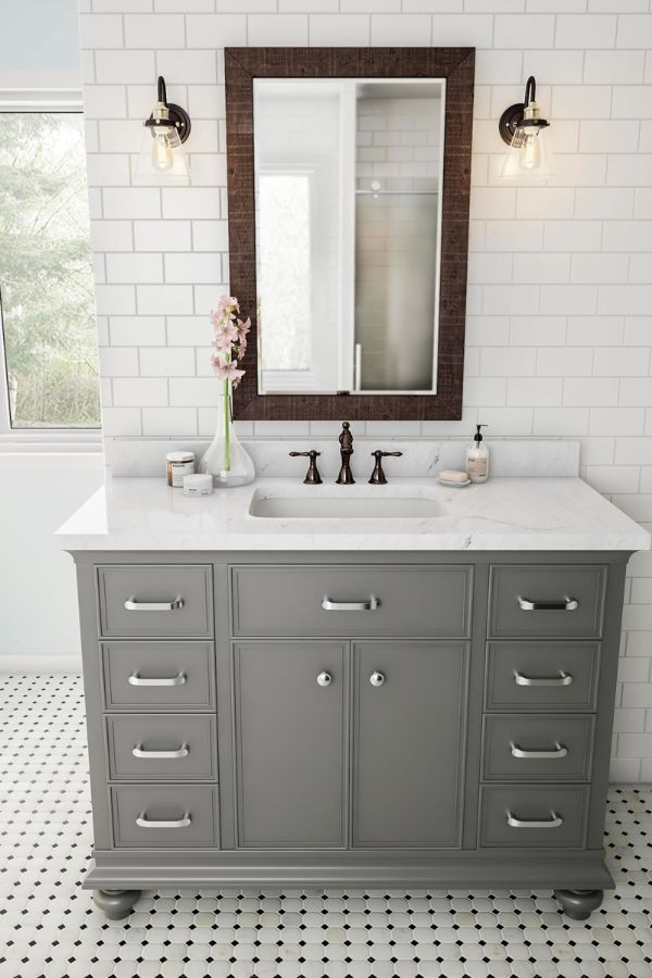 48 Cool Modern Bathroom Vanity Designs And The Accessories Page