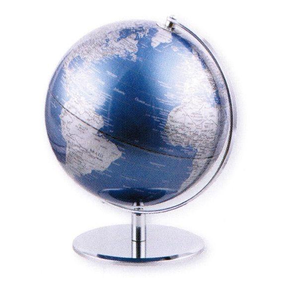 Mappamondo da arredo Mappamondo in alluminio BLUE PLANET - Impocoweb - Impoco Group: negozio di cartoleria online fornitura di articoli ufficio e scuola, articoli da regalo e pelletteria.