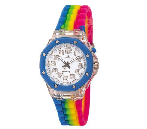 Reloj con caja en material plástico. - Cristian Lay