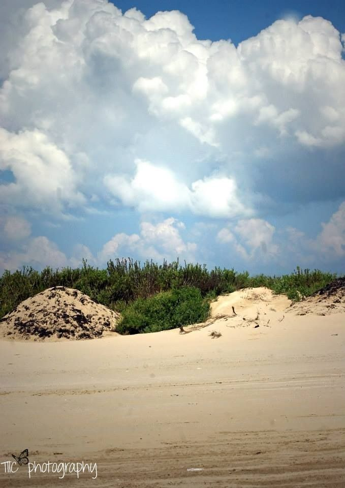 Sand Dunes That Are Being Made To Help Build More Land