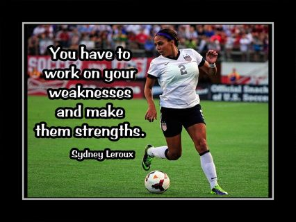 This motivational artwork is printed to order on heavy weight gloss photo paper, inserted in a 100% archival safe, acid-free clear sleeve and carefully packaged in flat mailer to ensure safe delivery.    The print is ready for you to frame. It would make a great gift for any aspiring soccer player, athlete or Sidney Leroux fan.    Buy with confidence. I stand behind everything I sell. If you are not satisfied with any aspect of your purchase please let me know so I can resolve your unmet…