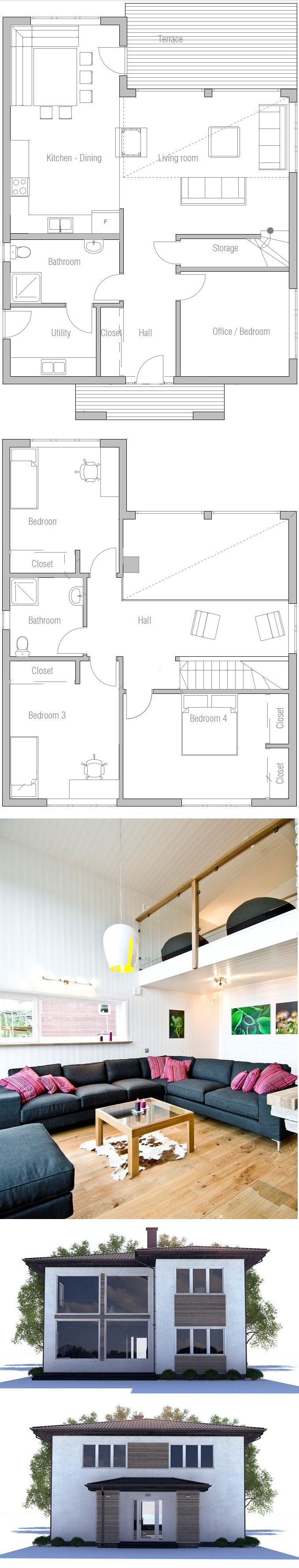 Architecture House Floor Plans 398 best floor plans images on pinterest | home plans, small