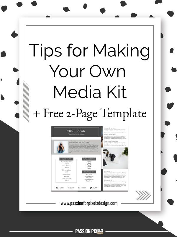 Passion for pixels design tips for making your own media for Design your own blogger template free
