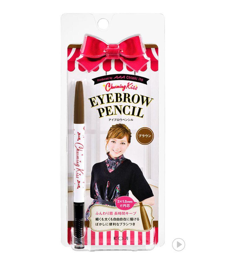 Charming Kiss Eyebrow Pencil Brown 챠밍키스 아이브로우 펜슬 브라운