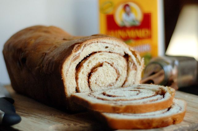 Golden Raisin Cinnamon Swirl Bread | breads | Pinterest