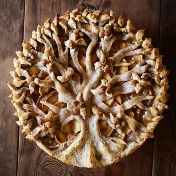 Beautiful Tree Pie