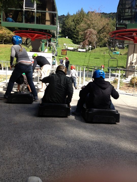 Skyline Skyrides Luge in Rotorua, Bay of Plenty