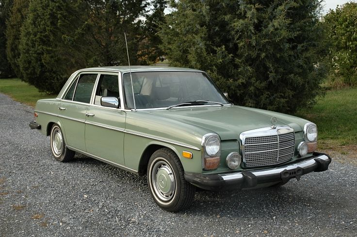 """My 1974 Mercedes 240D was gold, gold, gold right down to the hubcaps. We called it """"The Chicken Nugget""""."""