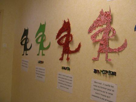 Activité à faire lors de la lecture du livre ''Le loup qui voulait changer de couleur''.