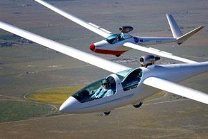 Micro Jet powered sailplane