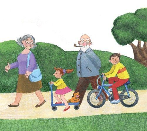 Salieron al parque Estan paseando Volverán a casa