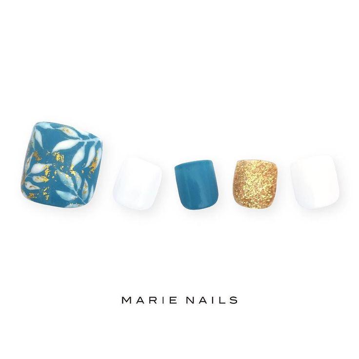 #マリーネイルズ #marienails #ネイルデザイン #ネイル #kawaii #kyoto #ジェルネイル#trend #nail #toocute #pretty #nails #ファッション #naildesign #awsome #nailart #tokyo #fashion #ootd #nailist #ネイリスト #gelnails #instanails #marienails_hawaii #cool #liketkit #フットネイル #pedicure #fashionlovers #fashionlove