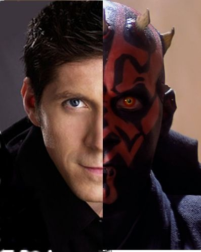 Ray Park as Darth Maul by John LeMasney via lemasneydotcom