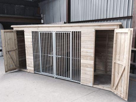 Wooden Dog Kennels - Kennelstore