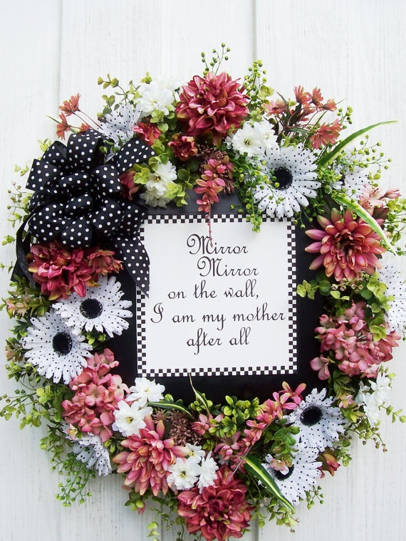 12 best Mother's Day Wreaths / Decor images on Pinterest ...