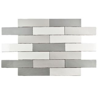 SomerTile 3x12-inch Gloucester Grey Ceramic Wall Tile (Case of 22) | Overstock.com Shopping - The Best Deals on Wall Tiles