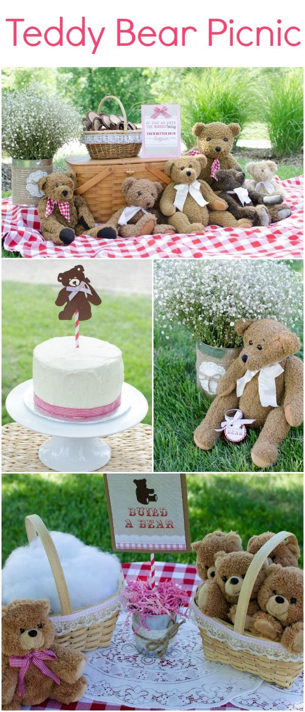 Teddy Bear Picnic party <3 for the kids