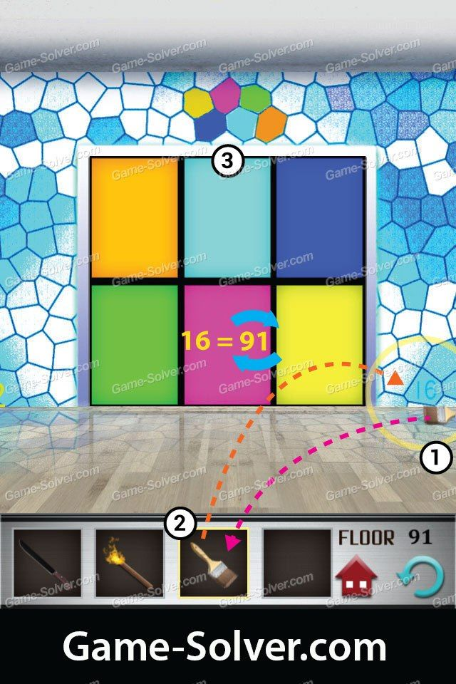 100 Floors Level 91 Walkthrough Feels Free To Follow Us In 2020 With Images Flooring Levels The 100