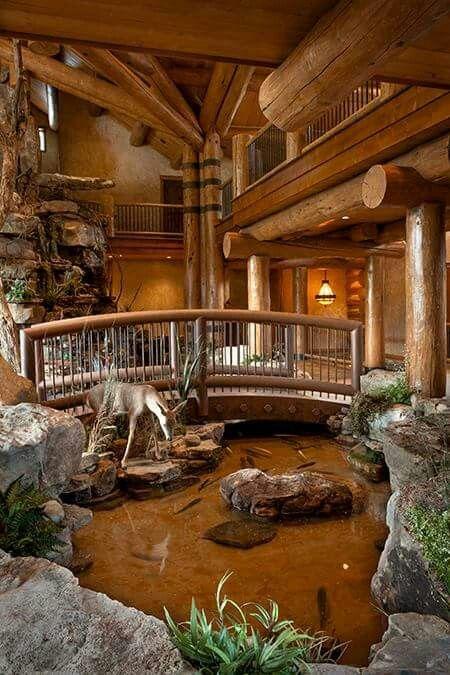 Bar Ideas, Log Cabins, Dream Homes, House Beautiful, Western, Man Cave,  Farmhouse Part 92