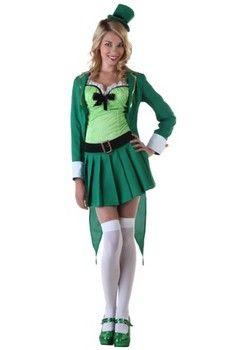 St. Patrick's Day Costumes:  Lucky Leprechaun Costume (more details at Adults-Halloween-Costume.com) #halloween #Irish #StPatricks #costumes