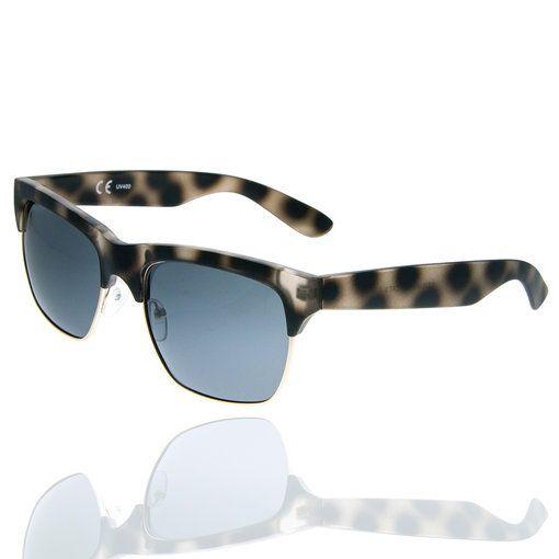 Sluneční brýle Retro Clubmaster unisex hnědé