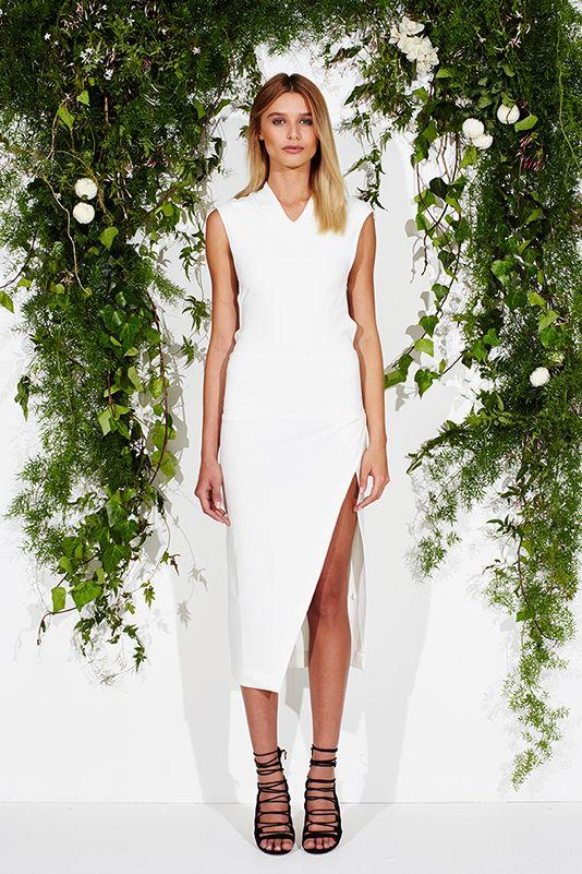 Savino Dress - Bianco from maurie and eve