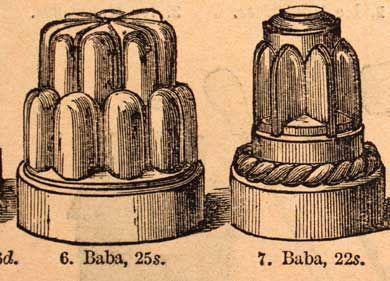 Taller cake moulds vs wider/shorter jelly moulds