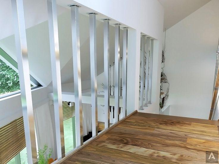 дизайн дома в современном стиле/ дизайн холла