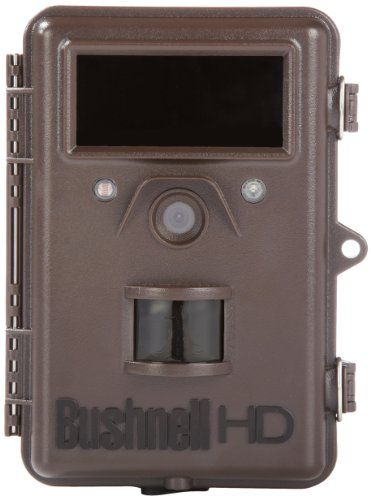 Bushnell 8 MP Trophy Cam HD Max Black LED Trail Camera w/Night Vision,  144.99$ from 356.95$  *digital scouting/surveillance/  monitoring wildlife  motion-sensor tech cap high-res & 720p HD vid w/sound, no-glow night-vision LEDs/ aft-dark imag: *8 MP hi-quality res/ 1-3 images per trigger; 1280x720p HD video w/audio rec (prog1-60 se) *Simultaneously images & video every trig w/HybridCaptureMode *display date,time,moon,temp, barometric press *Hyper Passive Infra-Red (PIR) Motion sens  to 60'…