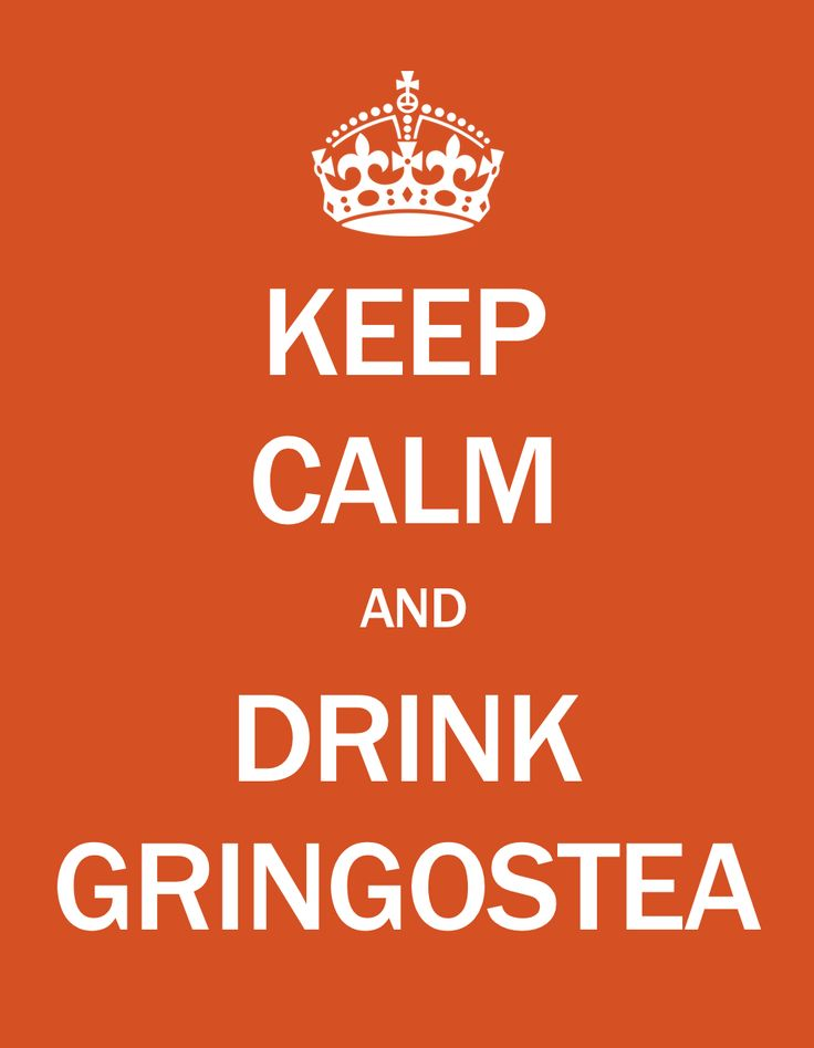 Keep Calm and Drink Gringostea