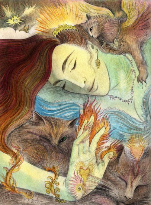 Phyllis Mahon, 'Girlycats'