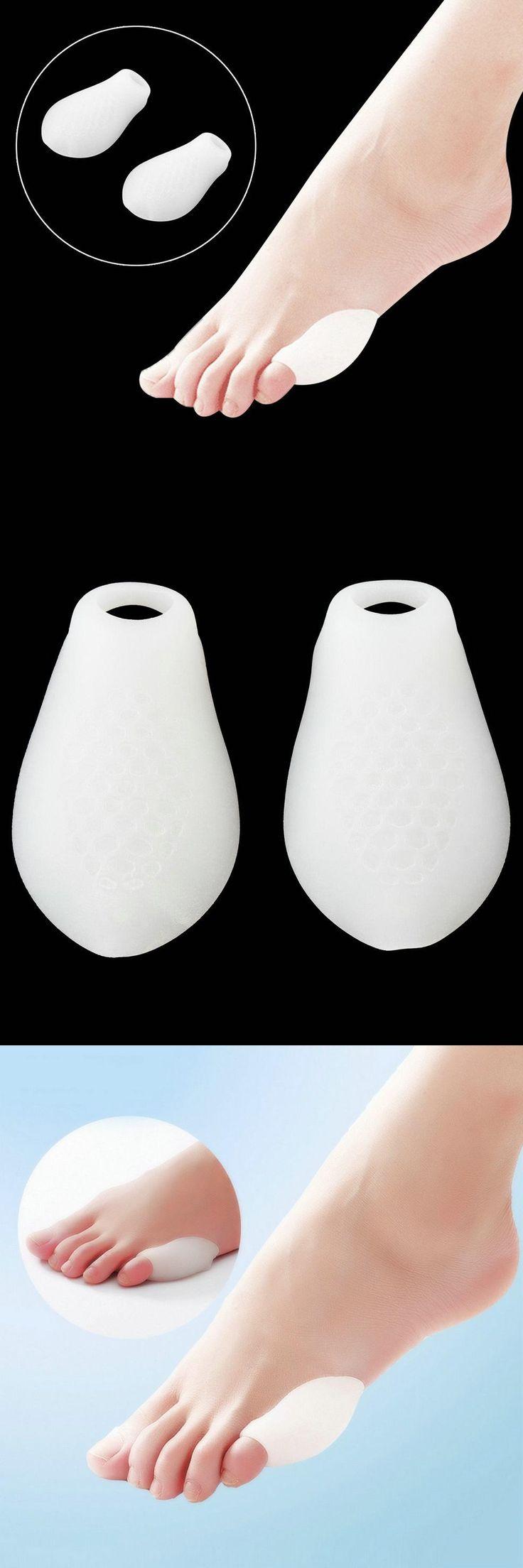 [Visit to Buy] 2X Little Toe Bunion Protectors Pads Feet Foot Pain Relief Corn Callus Latex Gel Wholesale Beauty #Advertisement