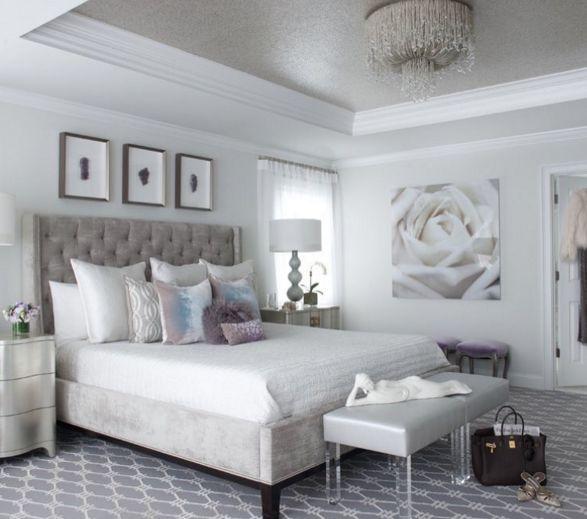 54 Amazing All White Bedroom Ideas: Best 20+ Grey Tufted Headboard Ideas On Pinterest