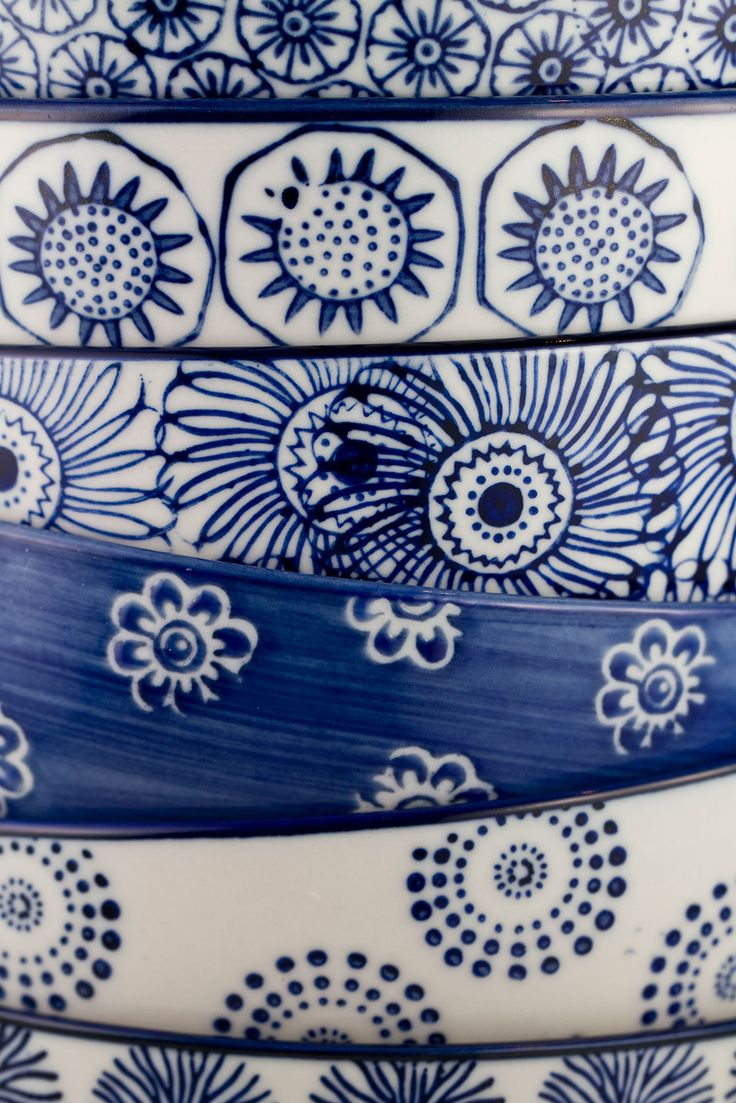 Beautiful hand painted bowls