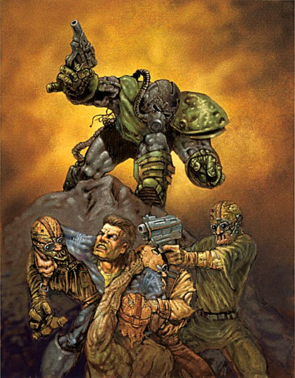 Various Fallout 1 2 Artwork And Wallpapers