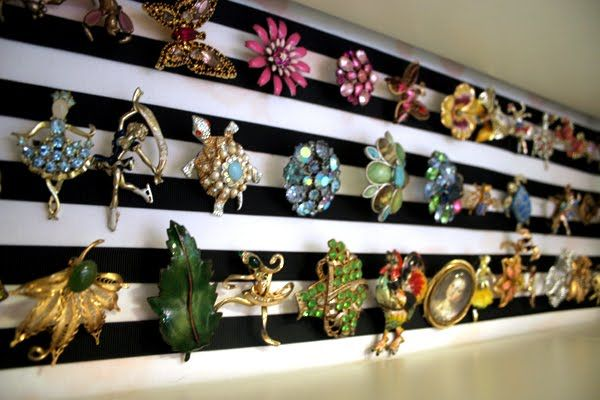 Bromeliad: My DIY jewelry display board - Fashion and home decor DIY and inspiration