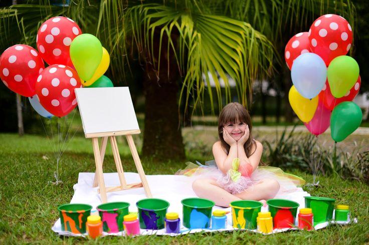 Decoração Provençal - Festas Personalizadas, Provençal e Clean : Smash the Paint