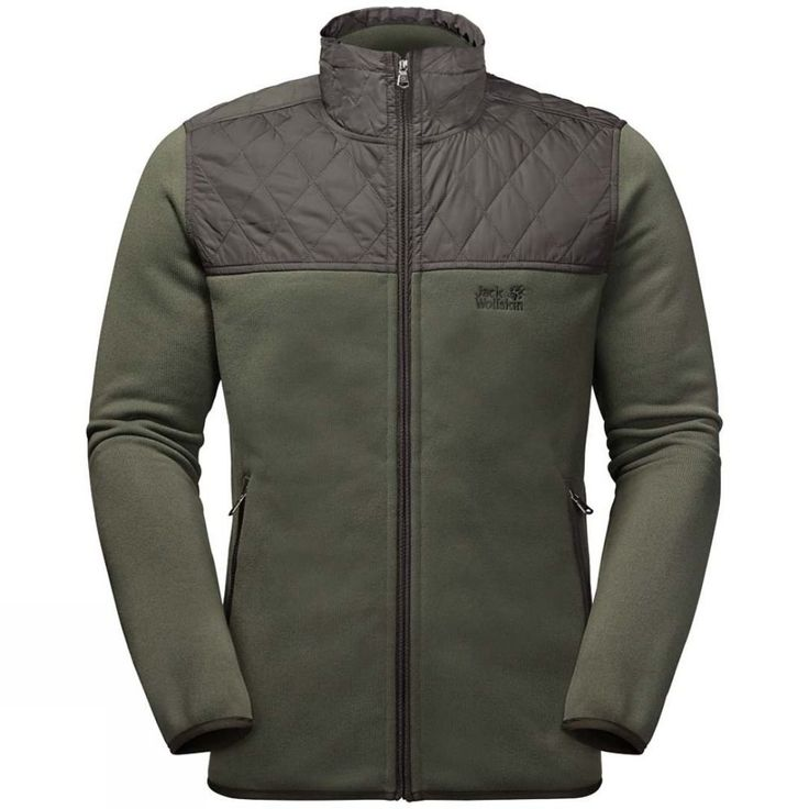 Jack Wolfskin Mens Mackenzie River Fleece Jacket