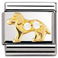 Nomination Charms White Dog | Contemporary Jewellery at Affordable Prices | Xen Jewellery Design