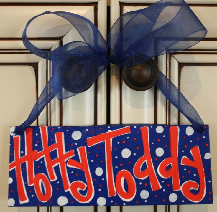 Hotty Toddy Ole Miss Sign by SallyKateSparkles on Etsy, $12.00