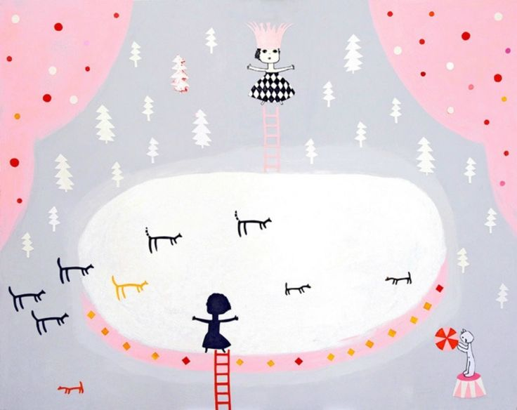 Ice Circus by Britt-Marie Oskarrson from Kickcan and Conkers