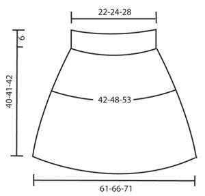 """DROPS 98-30 - Capa y gorro DROPS con punto de moras en """"Alaska"""" - Free pattern by DROPS Design"""