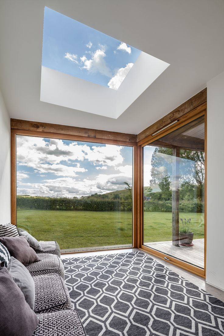 Flushglaze #skylight - daylighting solution! Architect: CaSA architects Photography: Simon Maxwell