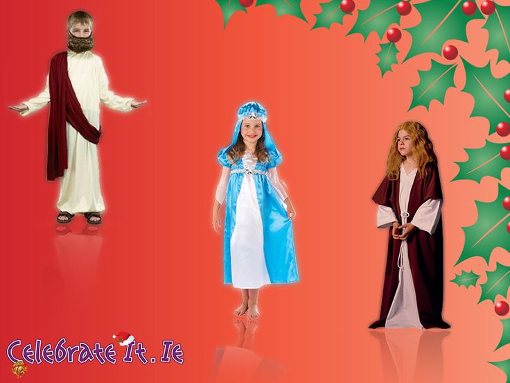 Fabulous kids costumes can make your little one look adorable.This is the time they can wear fancy gowns and dresses to enjoy the festivities. Come to us, we have a great range of kid's #Christmas and #nativitycostumes.