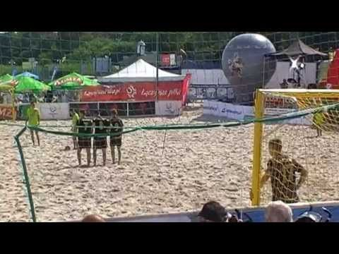 LAKTOZA vs. HEMAKO ( Finał Junior ) - BEACH SOCCER USTKA 2015